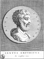 Author photo. From <a href=&quot;http://en.wikipedia.org/wiki/Image:Sextus_Empiricus.jpg&quot;>Wikipedia</a>