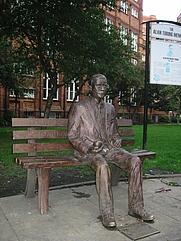 Author photo. Credit:  Lmno (Wikipedia user), 2004, Sackville Park, Manchester, England