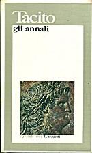 Gli annali: La vita di Giulio Agricola by…
