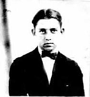 Author photo. Daniel Blum [1921 passport photo]