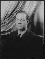 Author photo. William Archibald, 1956. Photo by Carl Van Vechten. (Library of Congress Prints and Photographs Division)
