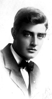 Author photo. Cyrus Leroy Baldridge in 1910
