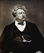 "Author photo. From <a href=""http://en.wikipedia.org/wiki/Image:Alexandre_Dumas.jpg"">Wikimedia Commons</a>"