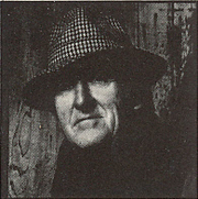 Author photo. Cropped scan of back cover of the Carcanet book, <i>An Enchantment</i>. Photo attributed to Christopher Barker.