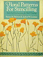 Floral patterns for stencilling with full…