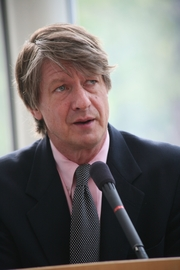Author photo. P.J. O'Rourke [credit: Cato Institute]