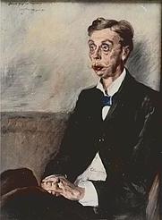 Author photo. Corinth, Lovis (1858-1925), Bildnis Eduard Graf von Keyserling, 1900, Bild, München, Bayerische Staatsgemäldesammlungen, Neue Pinakothek, 8986
