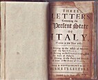 Three Letters Concerning the Present State…