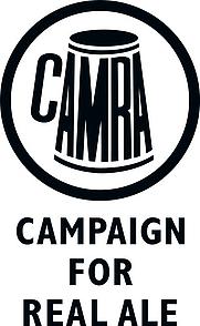 Author photo. CAMRA Logo