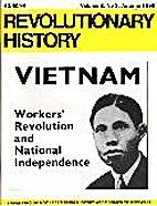 Revolutionary History - various issues