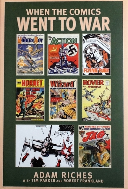 When the Comics Went to War cover