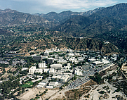 Author photo. Aerial view of the Jet Propulsion Laboratory [credit: NASA]