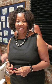 """Author photo. Ruby Bridges Hall speaking at Algiers Point temporary branch library, New Orleans. By Infrogmation of New Orleans - Photo by Infrogmation (talk) of New Orleans, CC BY-SA 3.0, <a href=""""//commons.wikimedia.org/w/index.php?curid=11558170"""" rel=""""nofollow"""" target=""""_top"""">https://commons.wikimedia.org/w/index.php?curid=11558170</a>"""