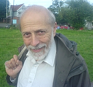 Author photo. International Master (chess) Michael J. Basman, taken on 27th, August 2006 on Midsummer Common, Cambridge, England