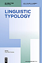 Linguistic Typology 9 (2005)