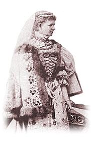 Author photo. Countess Irma Sztáray