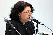 """Author photo. Sabine Thiesler, Leipzig Book Fair 2013 By Lesekreis - Own work, CC0, <a href=""""https://commons.wikimedia.org/w/index.php?curid=25209390"""" rel=""""nofollow"""" target=""""_top"""">https://commons.wikimedia.org/w/index.php?curid=25209390</a>"""