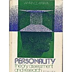 Personality: Theory, Assessment, and…