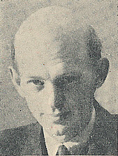 Author photo. Cut down scan from back cover of Penguin No.888. Unattributed photo.