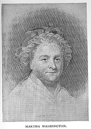 Author photo. Martha Dandridge Washington (1732-1802), Buffalo Electrotype and Engraving Co., Buffalo, N.Y.