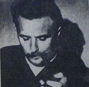 Author photo. Régis Debray in 1970