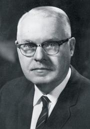 Author photo. Frank B. Rowlett [credit: Emory & Henry College]