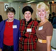 Author photo. Photo of Mignon Ballard, Kathy Hogan Trocheck, and Justine Veatch submitted by Jim Veatch.