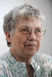 Author photo. Natalya Gorbanevskaya en mai 2008 à Prague