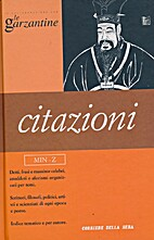 Le Garzantine, vol. 20