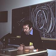 Author photo. Photo by Lars-Olov Strandberg, Fabula77, Copenhagen, Denmark, 1977. Copyright © Lars-Olov Strandberg