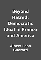 Beyond Hatred: Democratic Ideal in France…