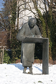 Author photo. Caesarius of Heisterbach memorial, Königswinter-Oberdollendorf, Germany. Photo by user Tohma / Wikipedia