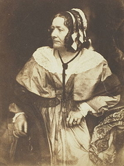 Author photo. Anna Brownell Jameson (1794-1860) Salt print of Jameson in 1844 by Hill & Adamson