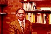 Author photo. Ramesh Gangolli. Photo by Konrad Jacobs.