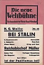 Die neue Weltbühne. III. Jahrgang. 8.…