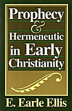 Prophecy and Hermeneutic in Early…
