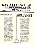 Gay Alliance of Professionals News (Issue…