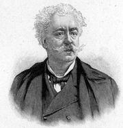 """Author photo. Source: """"Bibliothek des allgemeinen und <br>praktischen Wissens. Bd. 5"""" (1905)"""