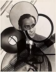 "Author photo. Bernard Siegel, ""Solargram Portrait of Arthur Siegel,"" c. 1948, gelatin silver print, 2007.11."