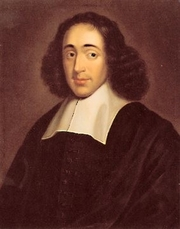 "Author photo. From <a href=""http://en.wikipedia.org/wiki/Image:Spinoza.jpg"">Wikipedia</a>"