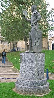 Author photo. Statue of Lope Garcia de Salazar, Portugalete, Spain.  Photo by Javier Mediavilla Ezquibela / Wikimedia Commons.