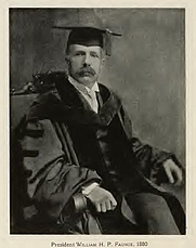 Author photo. William Herbert Perry Faunce. From page 358 of Memories of Brown; traditions and recollections gathered from many sources (1909)