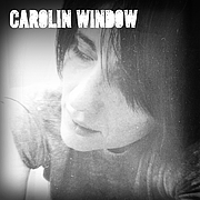 Author photo. Carolin Window, writer