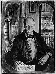 Author photo. Self-portrait, 1921 print (LoC Prints and Photographs Division, LC-USZ72-107)