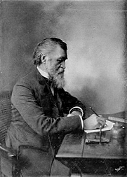 Author photo. Image from <b><i>History of Iowa from the earliest times to the beginning of the twentieth century</i></b> (1903) by Benjamin F. Gue
