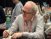 "Author photo. Tracy Letts at BookExpo at the Javits Center in New York City, May 2019. By Rhododendrites - Own work, CC BY-SA 4.0, <a href=""https://commons.wikimedia.org/w/index.php?curid=79387622"" rel=""nofollow"" target=""_top"">https://commons.wikimedia.org/w/index.php?curid=79387622</a>"