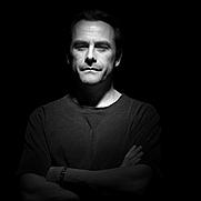 Author photo. British thriller writer Michael Marshall (aka Michael Marshall Smith)  Image copyright © Steve Double, 2006