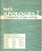 No Apologies: A Magazine of Gay Writing…
