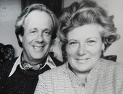 Author photo. George and Anne Forty