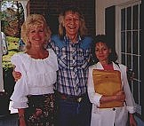 Author photo. Photo ofJustine Veatch, Tom C. Armstrong, and Deborah Adams by Jim Veatch